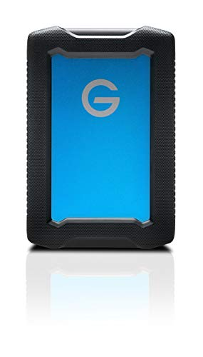 G-Technology 5TB ArmorATD All-Terrain Rugged Portable External Hard Drive - USB-C, USB 3.1 Gen 1 - 0G10478-1
