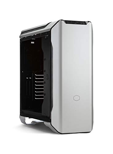 Cooler Master MasterCase SL600M W/ Aluminum Panels, Vertical Chimney Layout, Type-C I/O Panel, Noise Reduction Technology & Discreet Top Air Vents
