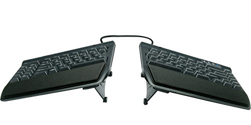 KINESIS Freestyle2 Ergonomic Keyboard w/ VIP3 Lifters for PC (9' Separation) (KB820PB-US)