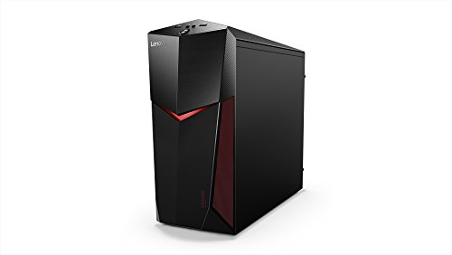 Lenovo Legion Y520 Gaming Tower Desktop Computer (Intel Core i7-8700, 8GB RAM, 1TB HHD + 128GB Pcle SSD, NVIDIA GeForce GTX 1060, Windows 10), 90JB003FUS