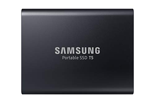 Samsung (MU-PA1T0B/AM) T5 Portable SSD - 1TB - USB 3.1 External SSD , Black