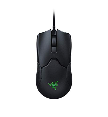 Razer Viper Ultralight Ambidextrous Wired Gaming Mouse: Fastest Mouse Switch in Gaming - 16,000 DPI Optical Sensor - Chroma RGB Lighting - 8 Programmable Buttons - Drag-Free Cord