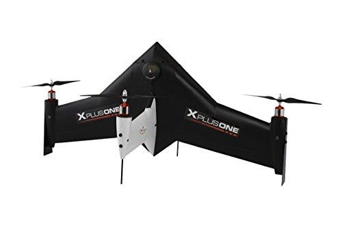 Xcraft RC1-XP1-001-BK Drone Quadcopter Camcorder Bundle, Black