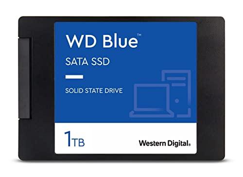 Western Digital 1TB WD Blue 3D NAND Internal PC SSD - SATA III 6 Gb/s, 2.5'/7mm, Up to 560 MB/s - WDS100T2B0A