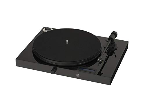 Pro-Ject All-in-One Turntable, Piano Black/High Gloss (Jukebox E (OM5e) - Piano)