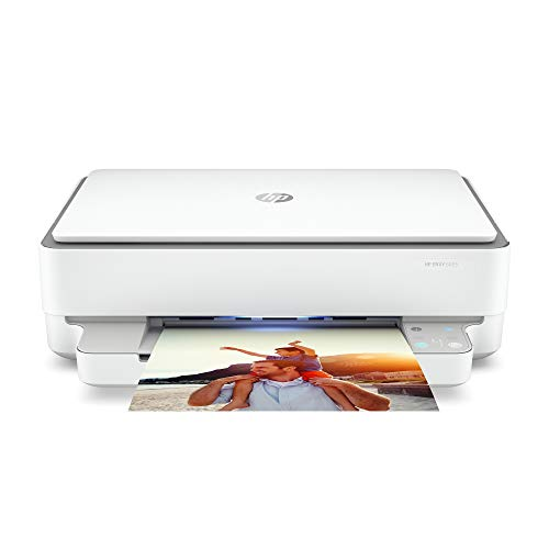 HP ENVY 6055 Wireless All-in-One Printer, Mobile Print, Scan & Copy, Works with Alexa (5SE16A)