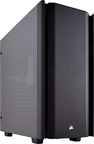 Corsair Obsidian Series 500D Premium Mid-Tower Case, Smoked Tempered Glass, Aluminum Trim (CC-9011116-WW)