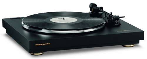 Marantz TT42P Fully Automatic Belt Drive Turntable , Built-in Phono Amp for Easy Connectivity , On-Board Phono EQ