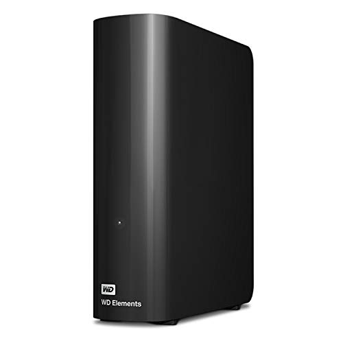 WD 8TB Elements Desktop Hard Drive HDD, USB 3.0, Compatible with PC, Mac, PS4 & Xbox - WDBWLG0080HBK-NESN