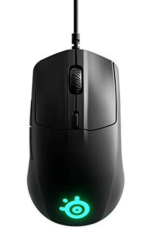 SteelSeries Rival 3 - Gaming Mouse - 8,500 CPI TrueMove Core Optical Sensor - 6 Programmable Buttons - Split Trigger Buttons