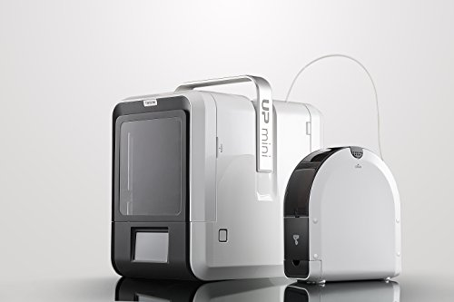 Tiertime UP Mini 2 ES 3D Printer, Linux Embedded System, Built-in HEPA Filtration, Advanced Materials Options, WiFi Connection, White, One Size