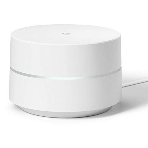 Google WiFi System, 1-Pack - Router Replacement for Whole Home Coverage - NLS-1304-25 (Renewed)