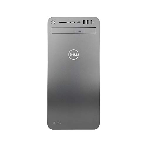 Dell XPS 8930 Special Edition Tower Desktop - 9th Gen Intel 8-Core i7-9700K Processor up to 4.9 GHz, 64GB Memory, 1TB SSD + 3TB Hard Drive, Intel UHD 630 Graphics, DVD Burner, Windows 10 Pro, Silver