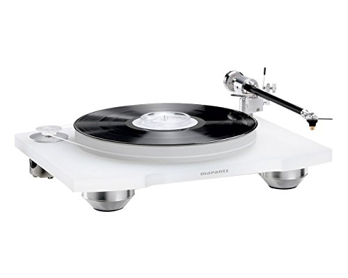 Marantz TT-15S1 Manual Belt-Drive Premium Turntable with Cartridge Included | Floating Motor for Low-Vibration & Low-Resonance | A Smart, Stylish Option for Vintage Vinyl Records
