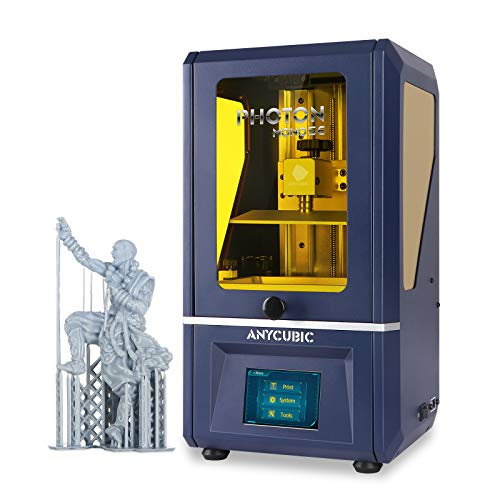ANYCUBIC Photon Mono SE Resin 3D Printer, UV LCD SLA 3D Printer Ultra Fast Printing with 6' 2K Mono Screen and WiFi Function, Dual Z-axis Linear Rail, Print Size 5.12'(L) x 3.07'(W) x 6.29'(H)
