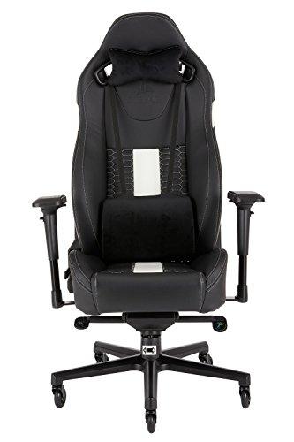 CORSAIR WW T2 ROAD WARRIOR Gaming Chair Comfort Design, Black/White