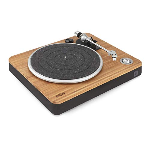 House of Marley Stir It Up Turntable: Vinyl Record Player with 2 Speed Belt, Built-in Pre-Amp, and Sustainable Materials