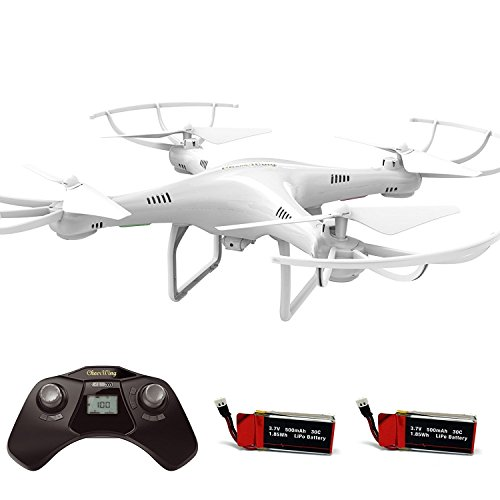 Cheerwing CW4 RC Drone with 720P HD Camera for Kids and Adults RC Quadcopter with Auto Hovering