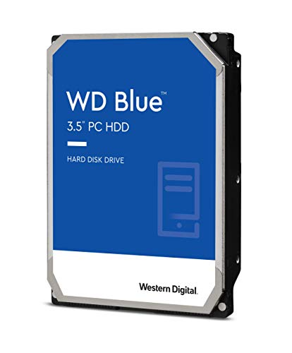 Western Digital 1TB WD Blue PC Hard Drive - 7200 RPM Class, SATA 6 Gb/s, , 64 MB Cache, 3.5' - WD10EZEX