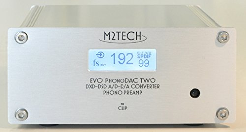 M2Tech EVO PhonoDAC TWO MM/MC adjustable Phono Preamp/32bit DXD ADC/DAC with Remote