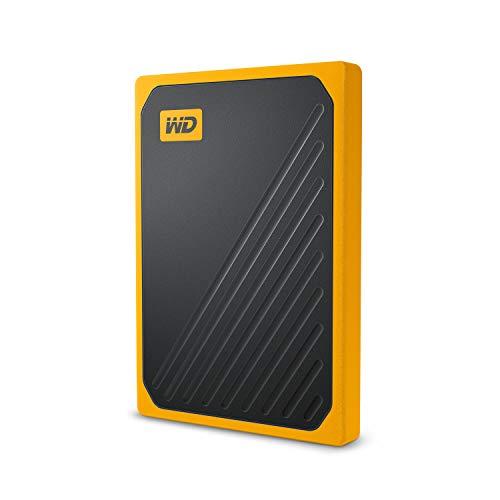 WD 500GB My Passport Go SSD Amber Portable External Storage, USB 3.0 - WDBMCG5000AYT-WESN
