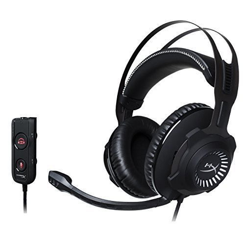 HyperX Cloud Revolver S Gaming Headset with Dolby 7.1 Surround Sound for PC, PS4, PS4 PRO, Xbox One, Xbox One S (HX-HSCRS-GM/NA)