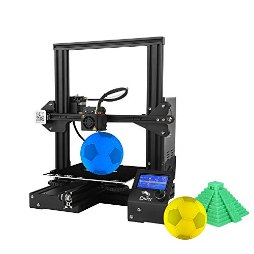 Creality Ender 3 Pro 3D Printer 8.6' x 8.6' x 9.8' with Meanwell Power Supply and Removable Cmagnet Build Surface Plates