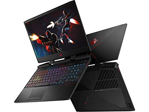 OMEN by HP 15-inch Gaming Laptop, 144Hz FHD IPS Display, Intel i7-8750H Processor, NVIDIA GTX 1050 Ti 4GB, 8GB RAM, 256GB SSD, Win10H, 15-dc0088nr (Renewed)