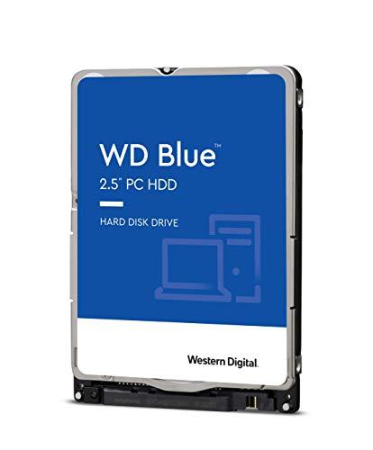 Western Digital 2TB WD Blue Mobile Hard Drive - 5400 RPM Class, SATA 6 Gb/s, 128 MB Cache, 2.5' - WD20SPZX
