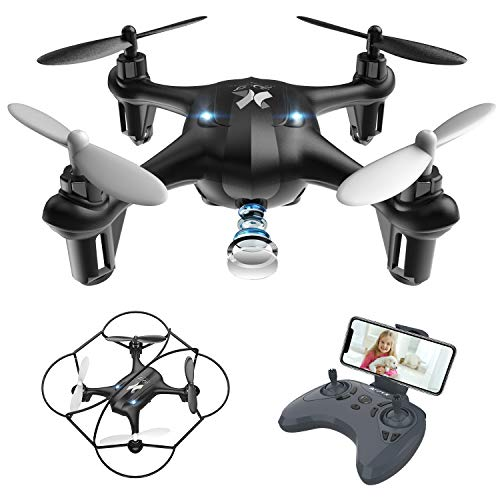 Mini Drone for Kids with FPV HD Camera,remote control drone toys,quadcopter drone with WiFi Transmission,Gravity Sensor and One Key Take Off/Landing for adults and Beginners(AT-96)