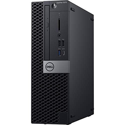Dell OptiPlex 5070 Desktop Computer - Intel Core i7-9700 - 8GB RAM - 500GB HDD - Small Form Factor