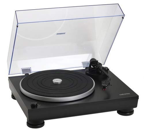 Audio-Technica ATLP5 AT-LP5 Direct-Drive Turntable, Black