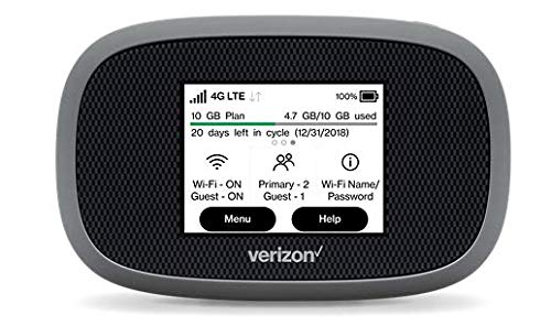 Verizon Wireless Jetpack 8800L 4G LTE Advanced Mobile Hotspot (No Sim Card Included)
