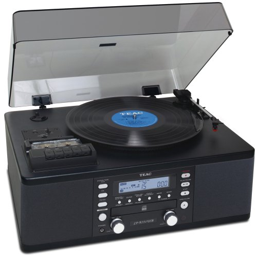 Teac LPR550-USB CD Recorder with Cassette Turntable (Walnut)