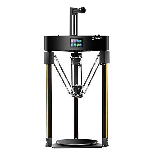 FLSUN Q5 Delta 3D Printer Φ200x200 Printing Size Auto-Leveling Touch Screen Lattice Glass Platform