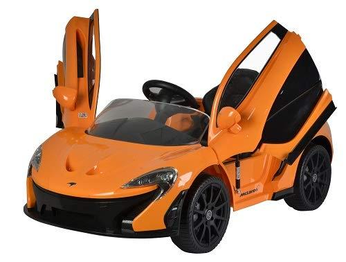 Best Ride On Cars Mclaren P1, 12V Battery Powered Ride On Car, Orange