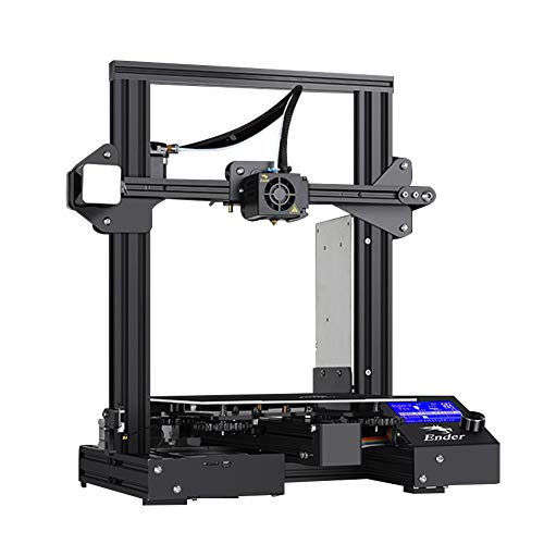 Adventurers 3D Printer Creatlity Ender-3 Pro 3D Printer 45°Display Resume Power Printing Printer 1.75mm Printing Support Operating Systems for Windows XP/Vista/7/8/10,MAC,Linux