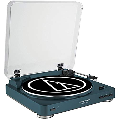 Audio-Technica AT-LP60 Fully Automatic Belt-Drive Stereo Turntable, Red
