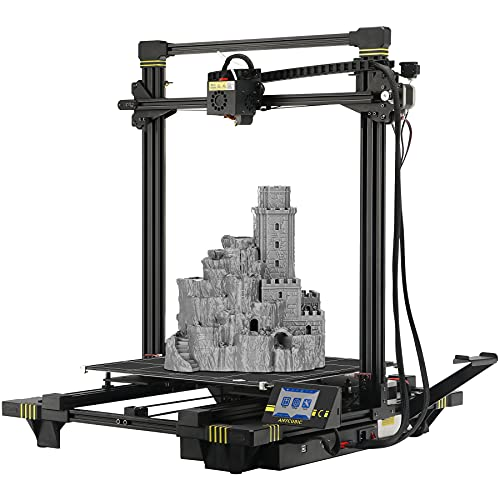 ANYCUBIC Chiron 3D Printer, Semi-auto Leveling Large FDM Printer with Ultrabase Heatbed, Suitable for 1.75 mm Filament, TPU, Hips, PLA, ABS etc. / 15.75 x 15.75 x 17.72 inch(400x400x450mm)