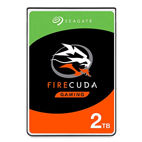Seagate (ST2000LX001) FireCuda 2TB Solid State Hybrid Drive Performance SSHD – 2.5 Inch SATA 6Gb/s Flash Accelerated for Gaming PC Laptop