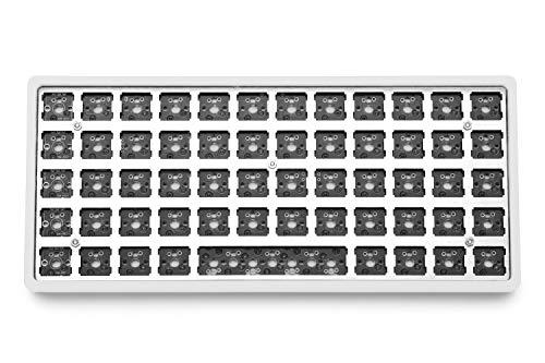 Drop + OLKB Preonic Keyboard MX Kit V3 — Compact Ortholinear Form Factor, Programmable QMK PCBA, Kaihua Hotswap Sockets, USB-C, Anodized Aluminum Case, (Acrylic)