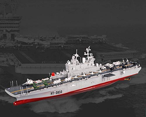 FMT 29' Inch Remote Control US Navy Amphibious Assault Battleship 2.4Ghz RC USN Military Battle Ship Marine Warship 1/350 Model Boat