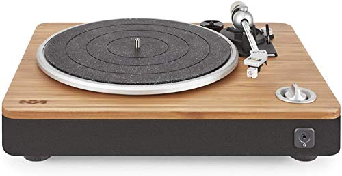 House of Marley, Stir It Up Turntable - 45/33 RPM, EM-JT000-SB Signature Black (Stir It Up)