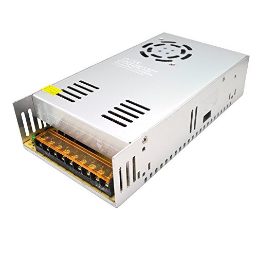 Padarsey 12V 30A Universal Regulated Switching Power Supply Driver for LED Strip Light CCTV Radio Computer Project
