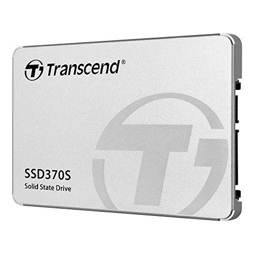 Transcend 1TB MLC SATA III 6Gb/s 2.5' Solid State Drive 370 (TS1TSSD370S),Silver