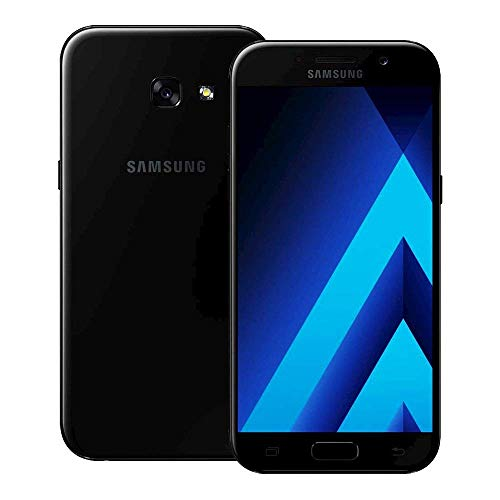 SAMSUNG GALAXY A5 2017 UNLOCKED SM-A520F 32GB/3GB SINGLE SIM 4G LTE IN USA, CARIBBEAN & LATIN AMERICA (BLACK SKY) - INTERNATIONAL VERSION - NO WARRANTY