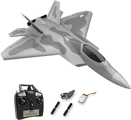 Top race Rc jet 4 channel remote control fighter jet rc plane ready to fly rc planes for adults, one key stunts rc airplane, high speed rc airplane, hobby rc jet plane FOR ADVANCED FLYERS ONLY TR-F22B
