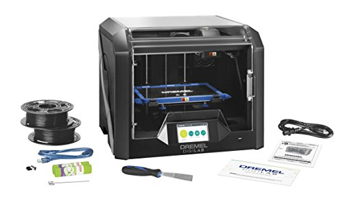 Dremel - 3D45-01 DigiLab 3D45 Award Winning 3D Printer w/Filament, PC & MAC OS, Chromebook, iPad Compatible, Network-Friendly, Built-in HD Camera, Heated Build Plate, Nylon, ECO ABS, PETG, PLA Print Capability black