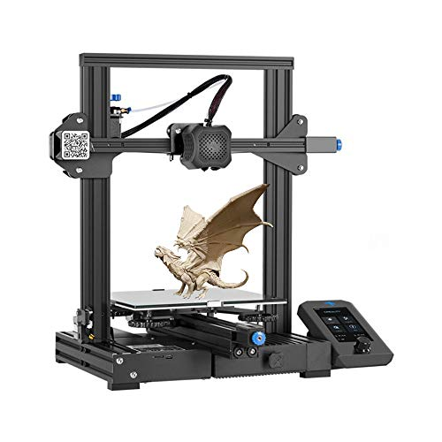 Adventurers 3D Printer Creality Ender 3 V2 3D Printer UI Display Screen Resume Printing Printer