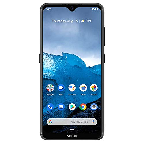 Nokia 6.2 - Android 9.0 Pie - 64 GB - Triple Camera - Unlocked Smartphone (AT&T/T-Mobile/MetroPCS/Cricket/Mint) - 6.3' FHD+ HDR Screen - Black - U.S. Warranty